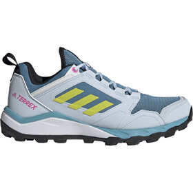 adidas TERREX Agravic TR Trail Running Shoes Women, hazy blue/acid yellow/crystal white